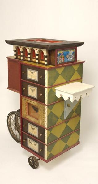 Traveling Santero Cabinet