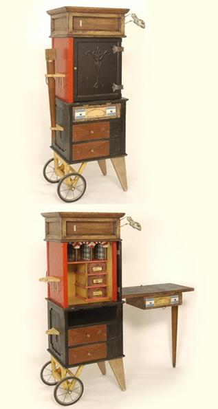 Traveling Teacher's Cabinet
