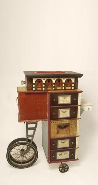 Traveling Santero's Cabinet