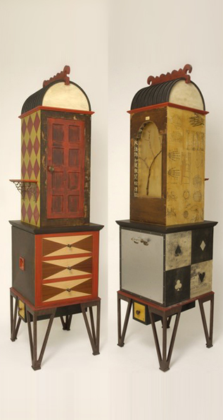 Balinese Gambling and Acupuncture Cabinet
